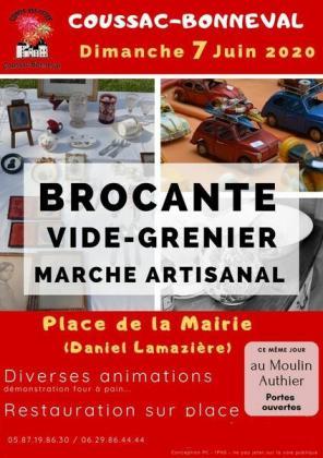 Brocante Vide-Greniers de Coussac-Bonneval