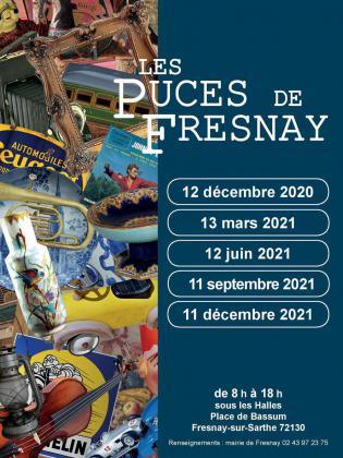 Marche aux puces de Fresnay-sur-sarthe