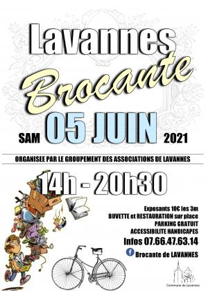 1ere Brocante vide grenier de Lavannes (51)