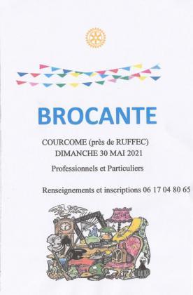 Brocante du Rotary de Courcôme