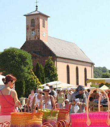 Marché Foire Saint Vincent de Soppe-le-Bas