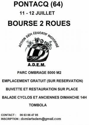 Bourse 2 roues de Pontacq