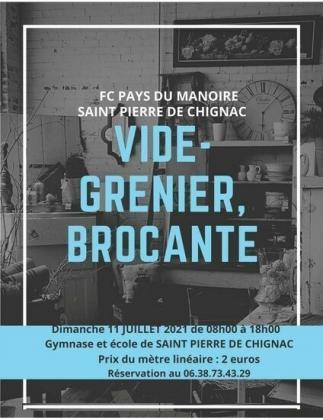Brocante Vide-Greniers de Saint-Pierre-de-Chignac