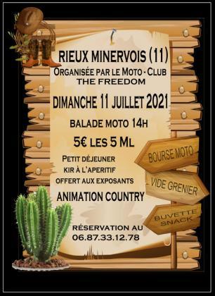 Bourse Moto et Vide Grenier de Rieux-Minervois