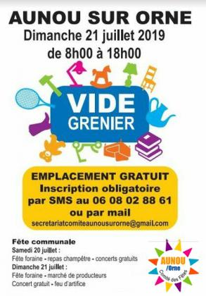 Vide-Greniers - Aunou-sur-Orne