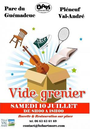 Vide-Greniers de Pléneuf-Val-André
