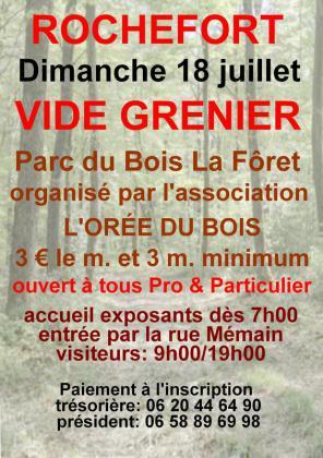 Vide-Greniers de Rochefort