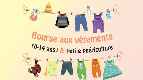 Bourse aux vêtements - petite puériculture de Saint-Pierre-des-Corps