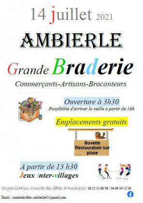 Braderie - Ambierle