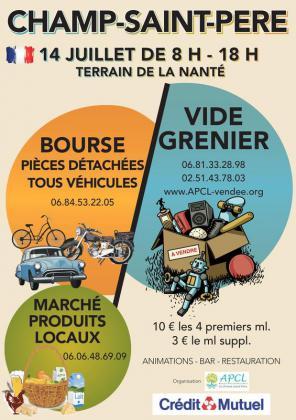 Vide-Greniers - Le Champ-Saint-Père