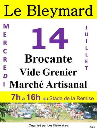 Brocante Vide-greniers de Mont Lozère et Goulet