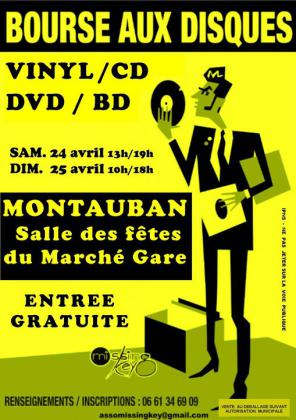 Bourse aux Disques Vinyls, CD, DVD de Montauban