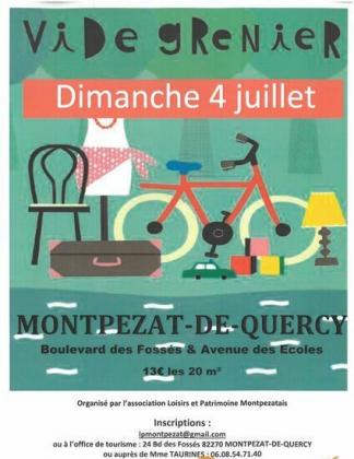 Vide-Greniers de Montpezat-de-Quercy