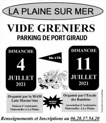 Vide-Greniers de La Plaine-sur-Mer