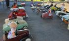 Bourse échanges Exposition miniatures, voitures à pédales, de Saint-Augustin
