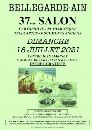 37ème Salon Numismatique et Cartophile