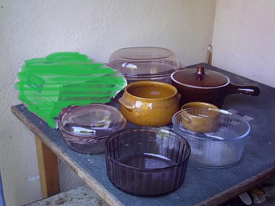 Cocottes et Plats en Verre et Moules à Soufflé