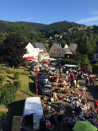 Marché aux puces de Breitenbach-Haut-Rhin