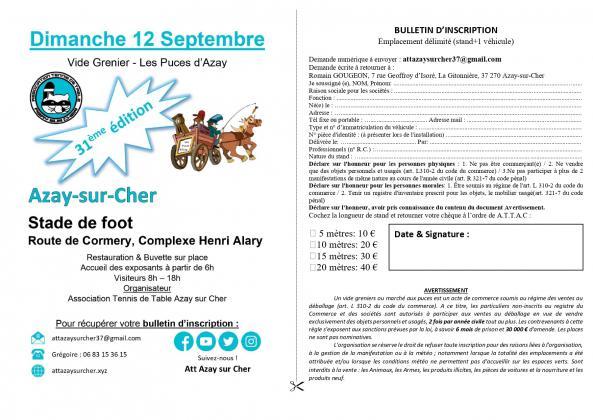 Vide-Greniers - Azay-sur-cher