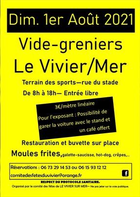 Vide-Greniers - Le Vivier-sur-Mer