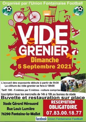 Vide-Greniers de Fontaine-la-Mallet