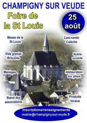 Foire de la Saint Louis - Champigny-sur-Veude