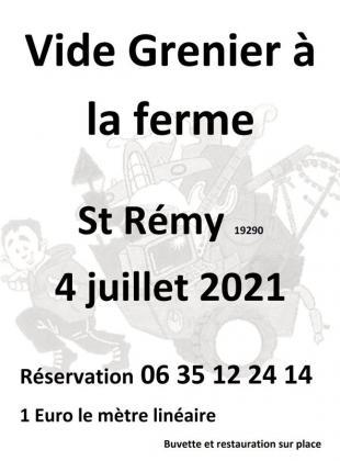 Vide-Greniers de Saint-Rémy