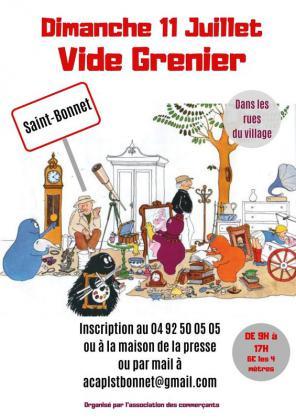Vide-Greniers de Saint-Bonnet-en-Champsaur