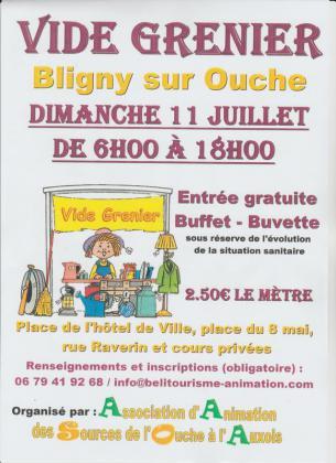 Vide-Greniers de Bligny-sur-Ouche