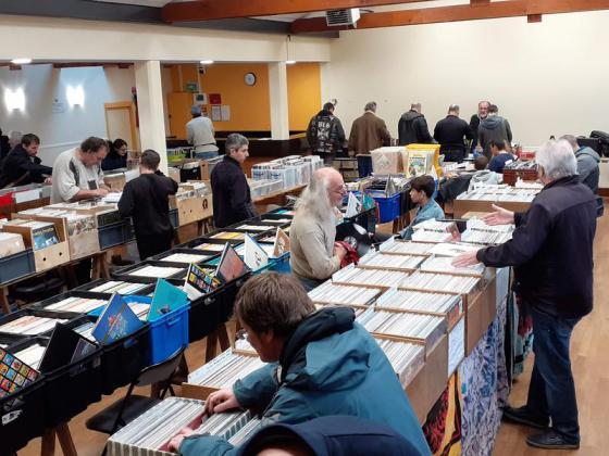 Bourse Vinyles et BD de Saint-Thurien