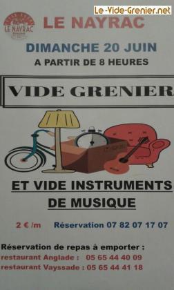 Vide-Greniers - Le Nayrac