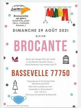 Brocante Vide-greniers de Bassevelle