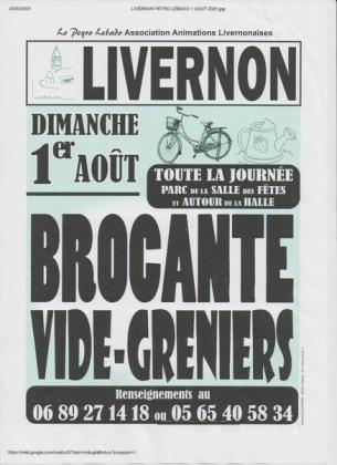Brocante - Vide-Greniers de Livernon