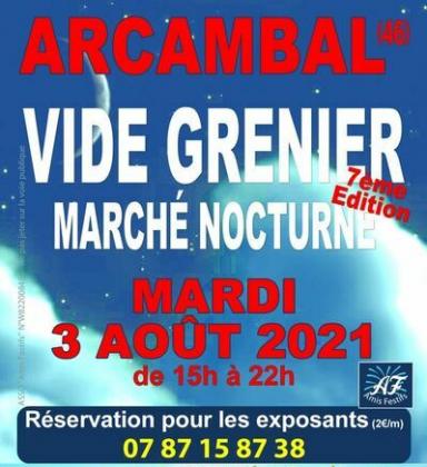 Vide-greniers - Arcambal