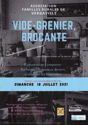 Brocante - Vide-Greniers de Vergaville