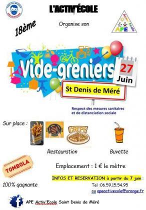 Vide-greniers de Saint-Denis-de-Méré