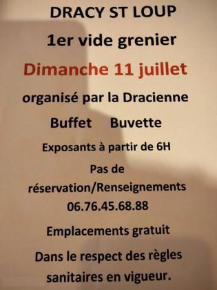 Brocante - Vide-Greniers de Dracy-Saint-Loup