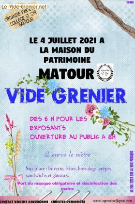 Vide-greniers de Matour