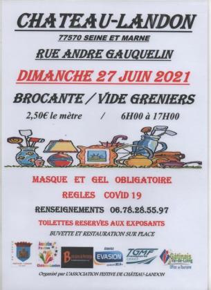 Vide-greniers de Château-Landon