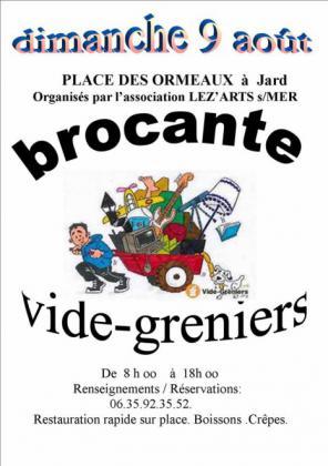 Brocante - Vide-Greniers de Jard-sur-Mer
