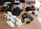 Lot de prises et câbles
