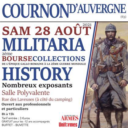 2ème édition du Salon History & Militaria 2021