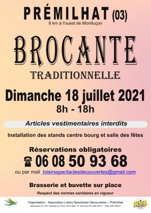 Brocante Traditionnelle