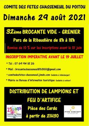 Brocante - Vide-Greniers de Chasseneuil-du-Poitou