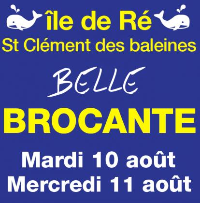 Belle brocante de Saint-Clément-des-Baleines
