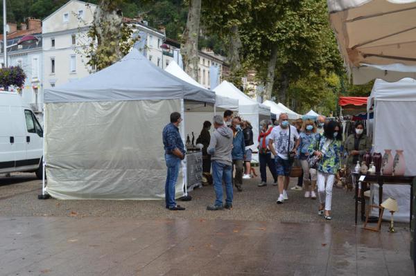 Belle brocante d'été de Foix
