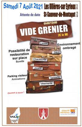 Vide-greniers - Les Ollières-sur-Eyrieux