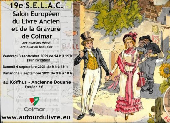 Salon Européen du Livre Ancien et de la Gravure de Colmar