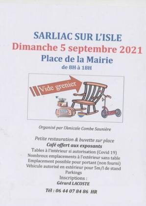 Vide-greniers de Sarliac-sur-l'Isle