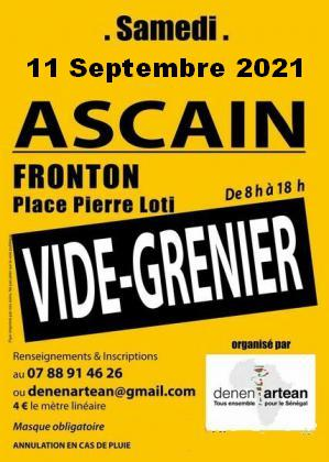 Vide-greniers - Ascain